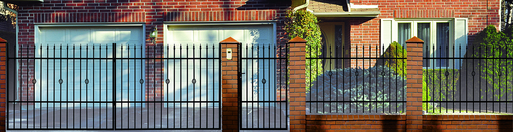 klassisches einfahrtstor elektrisch nova schwarz 400 x 150 cm bauelemente. Black Bedroom Furniture Sets. Home Design Ideas